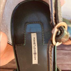 Max Studio Shoes - Emerald green Max Studio Mary Jane Pumps. Size 7